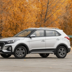 Накладки на пороги ATOM для Hyundai Creta