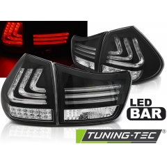 Задние фонари LED BAR BLACK для Lexus RX II 330/ 350