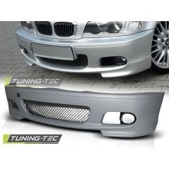 Передний бампер M-Tech для BMW E46 coupe