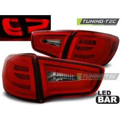 Задние фонари RED WHITE LED BAR для Kia Sportage III