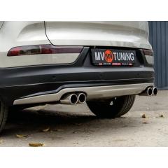Юбка заднего бампера IXION для Kia Sportage 3