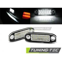 Подсветка номерного знака LED для Volvo S40\ V50\ S60\ V70\ S80\ XC60\ XC70\ XC90