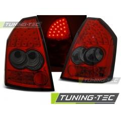 Задние фонари RED SMOKE LED для Chrysler 300C (2005-2008)
