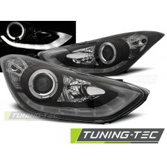 Передние фары BLACK DAYLIGHT LED для Hyundai Elantra 5