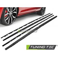 Накладки (листва) на пороги GTi STYLE для Volkswagen Golf 7