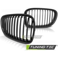 Решетка (ноздри) радиатора mat black для BMW F01 / F02
