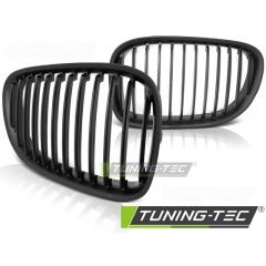 Решетка (ноздри) радиатора mat black для BMW F01 F02
