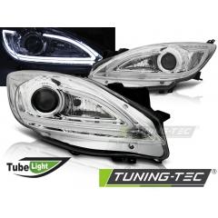 Передние фары TUBE LIGHT CHROME для Mazda 3 BL