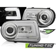 Передние фары CHROME TUBE LIGHT для Chrysler 300C