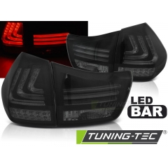 Задние фонари LED BAR SMOKE BLACK для Lexus RX II 330/ 350