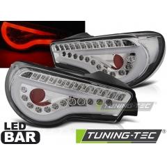 Задние фонари LED BAR CHROME SEQ для Toyota GT86