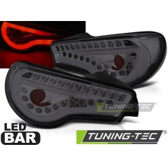 Задние фонари LED BAR SMOKE SEQ для Toyota GT86