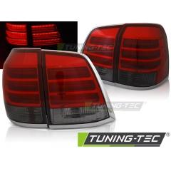 Задние фонари RED SMOKE LED для Toyota Land Cruiser FJ200