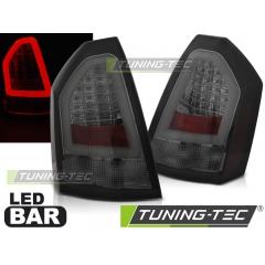 Задние фонари SMOKE LED BAR для Chrysler 300C (2005-2008)