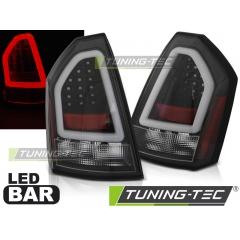 Задние фонари BLACK LED BAR для Chrysler 300C (2005-2008)