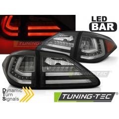 Задние фонари BLACK LED SQL для Lexus RX III 350