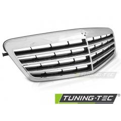 Решетка радиатора CHROME для Mercedes E W212 (2009-2013)