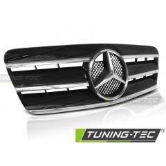 Решетка радиатора CL STYLE BLACK CHROME для Mercedes CLK W208