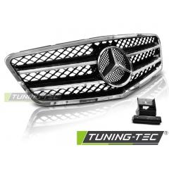 Решетка радиатора AMG STYLE BLACK CHROME для Mercedes E W212 (2009-2013)