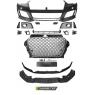 Передний бампер RS3 STYLE CHROME BLACK для Audi A3 8V