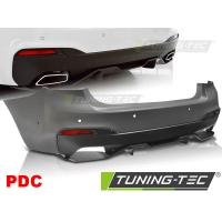 Бампер задний M-PERFORMANCE STYLE PDC для BMW 5 G30
