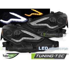 Передние фары LED PROJECTOR TUBE BLACK для Lexus IS III