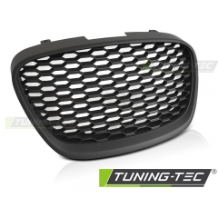 Решетка радиатора HONEY DESIGN BLACK MATT для Seat Leon (2009-2012)