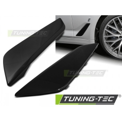 Накладки на передние крылья GLOSSY BLACK для BMW 5 G30\ G31