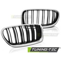 Решетка радиатора M5 LOOK CHROME GLOSY BLACK для BMW 5 F10\ F11