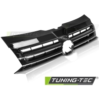 Решетка радиатора BLACK CHROME для Volkswagen T5 FL