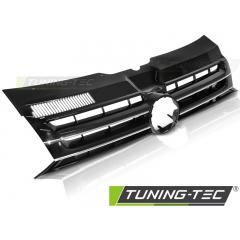 Решетка радиатора BLACK CHROME для Volkswagen T5 (2010-2015) Caravelle Multivan
