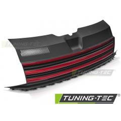 Решетка радиатора BLACK RED для Volkswagen T6