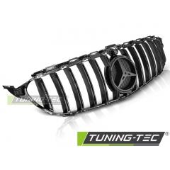 Решетка радиатора GT-R STYLE GLOSSY BLACK для Mercedes C W205
