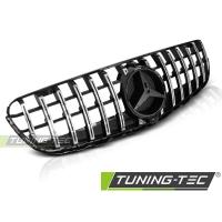 Решетка радиатора GT-R STYLE CHROME GLOSSY BLACK для Mercedes GLC W253