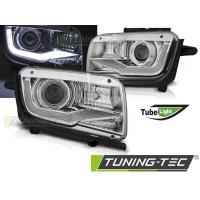 Передние фары TUBE LIGHT CHROME для Chevrolet Camaro