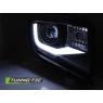 Передние фары TUBE LIGHT BLACK для Chevrolet Camaro V