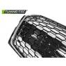 Решетка радиатора RS5 STYLE CHROME GLOSSY BLACK для Audi A5 (2018- )