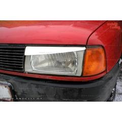 Накладки (реснички) на фары для Audi 80 B3