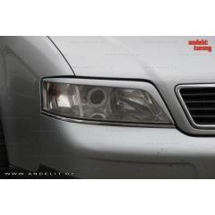 Реснички на фары для Audi A6 C5 (1997-2001)