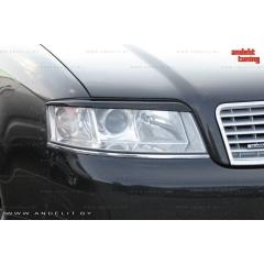 Реснички на фары для Audi A6 C5 (2001-2004)