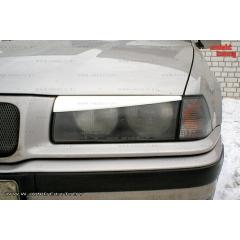 Накладки (реснички) на фары косые для BMW E36