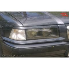 Накладки (реснички) на фары для BMW E36
