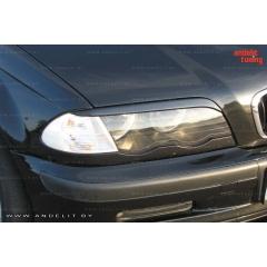 Накладки (реснички) на фары для BMW E46 sedan 98-01