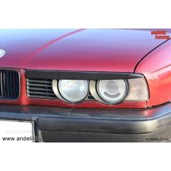 Реснички на фары для BMW 5 E34