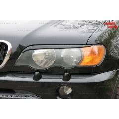 Накладки (реснички) на фары для BMW X5 E53