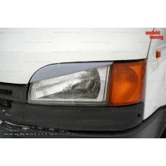 Реснички на фары для Ford Transit 5 (1994-2000)