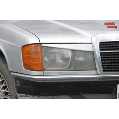 Реснички на фары для Mercedes C W201