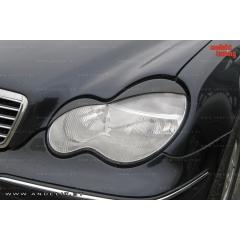 Реснички на фары для Mercedes C W203