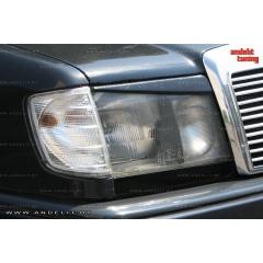 Реснички на фары для Mercedes E W124