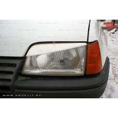 Накладки (реснички) на фары для Opel Kadett E